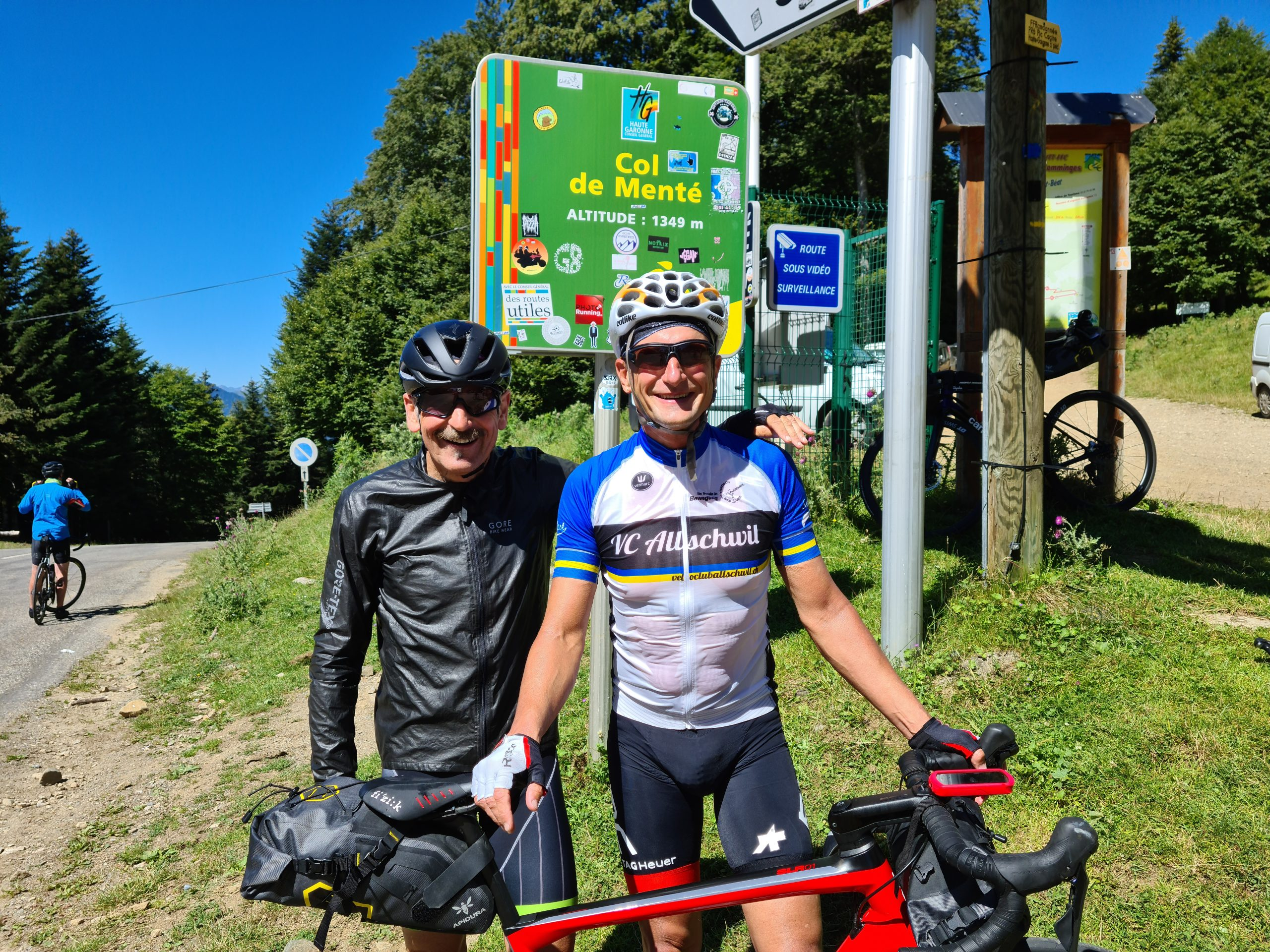Crossing the Pyrenees, 5th day: Bagniere-de-Luchon - Seix