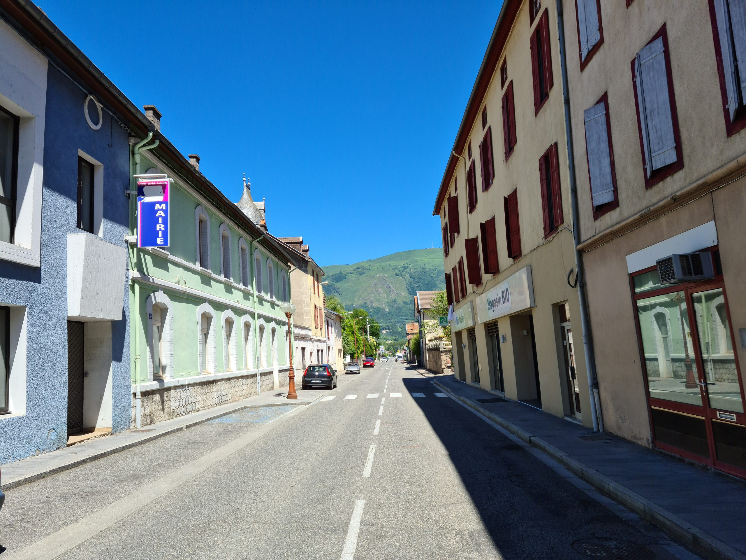 Crossing the Pyrenees, 6th day: Seix - Ax-les Thermes